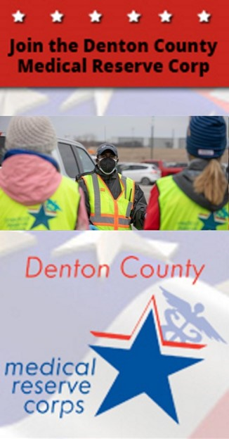 Banner_1: Join the Denton County Medical Reserve Corp